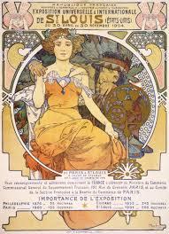 Poster design by Alphonse Mucha