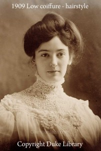 1909 Edwardian Coiffure