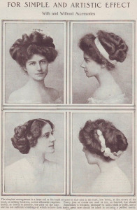 1909 hairstyles