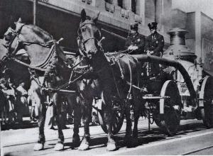1910 Last horse-drawn steam pumper, Memphis