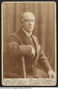 David Bispham, c.1905 Harvard Theatre Collection