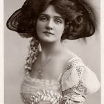 Actress Lily Elsie 1909