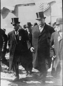 Mayor Malone of Memphis and President Taft