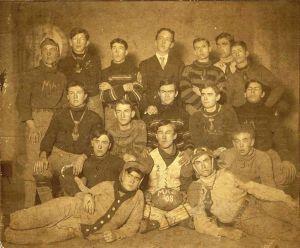 Memphis High School football team, 1908. George Whitworth Collection, historic-memphis.com