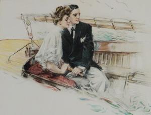 Sailing Close, Howard Chandler Christy