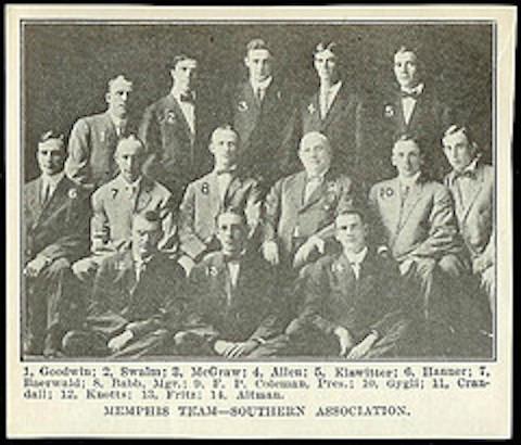 1910 Memphis Turtles