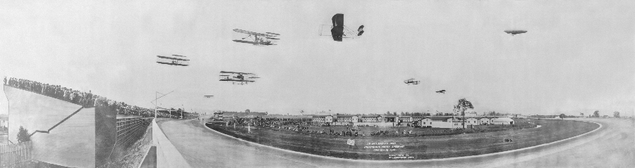 Airplane races 1910