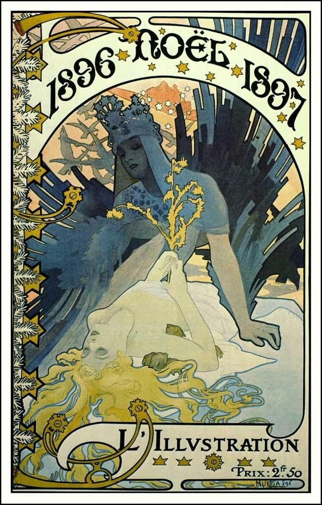 Alphonse Mucha, 1896