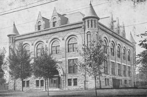 Memphis High School, 1909; historic-memphis.com