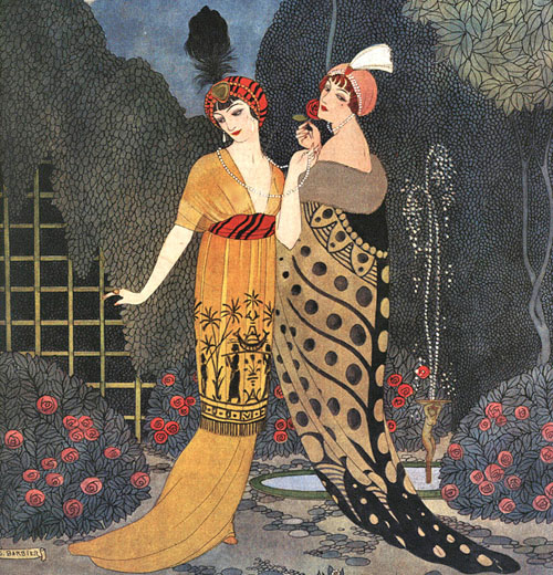 Georges Barbier illus. for Paul Poiret, 1912