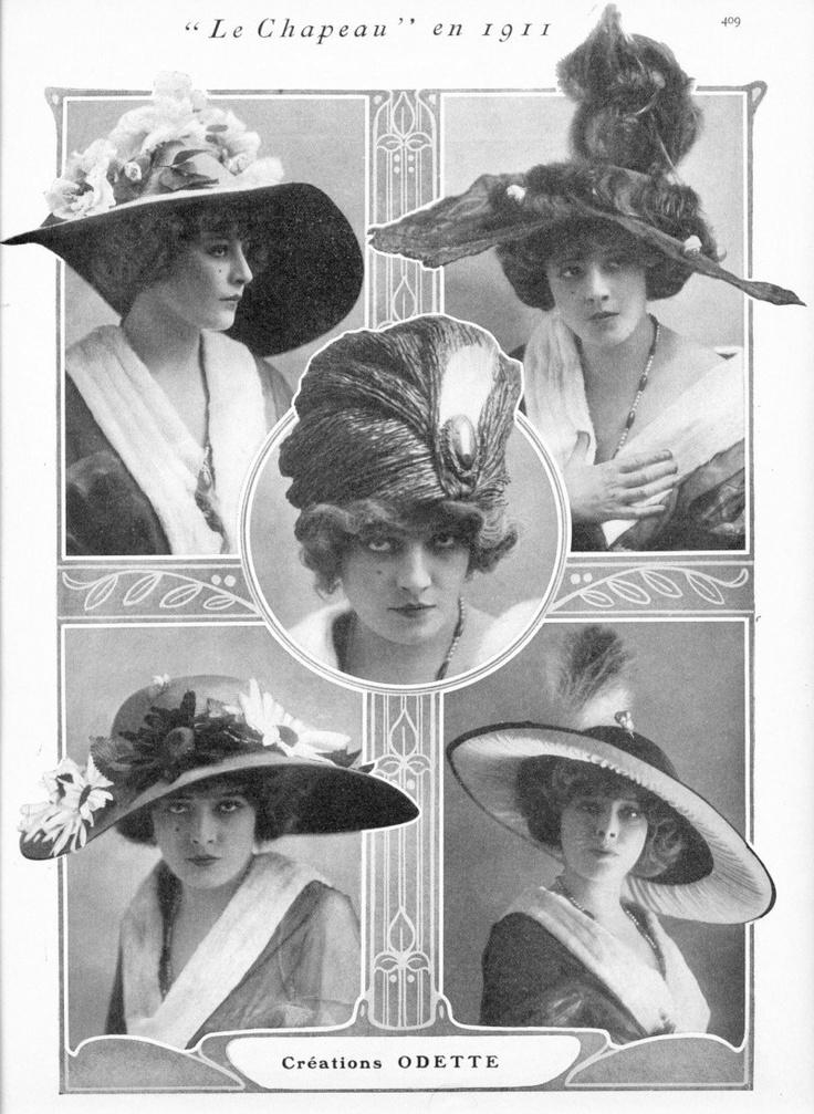 Hats 1911