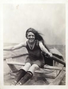 Jessie in an Annette Kellerman, 1920