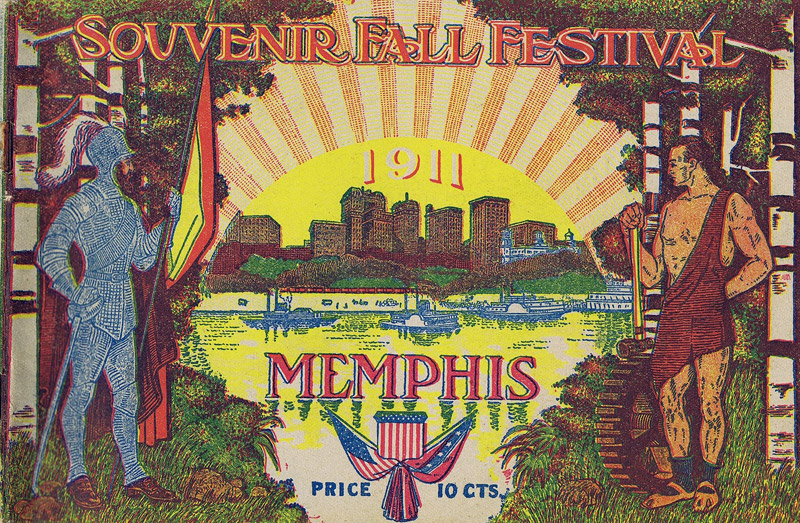 Fall Festival cover, Memphis 1911