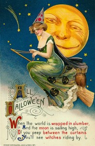 John Winsch Halloween postcard, 1911