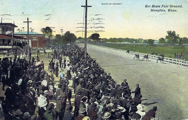 Tri-State Fair grounds, Memphis, 1911.