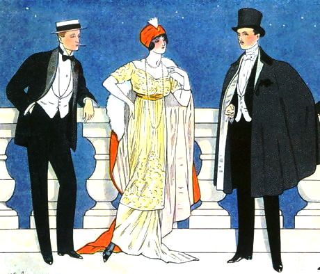 Edouard Touraine. L'homme elegant. 1912
