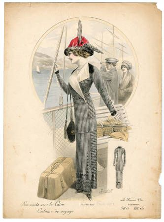 French fashion plate 1912