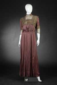 Silk party dress, c.1912