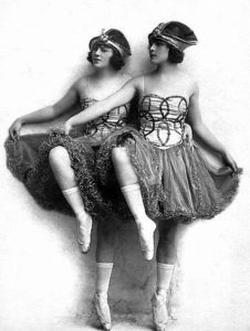 Vaudeville sister act, Madeline & Dorothy Cameron